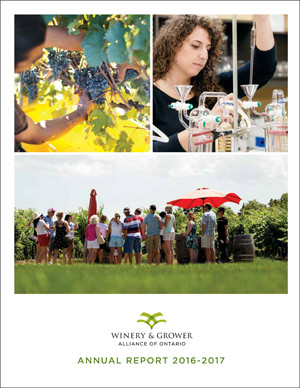 Winery & Grower Alliance of Ontario Annual Report 2016-2017