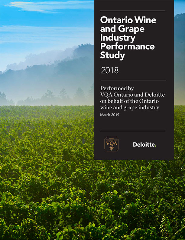 Ontario Wine and Grape Industry Performance Study – 2018